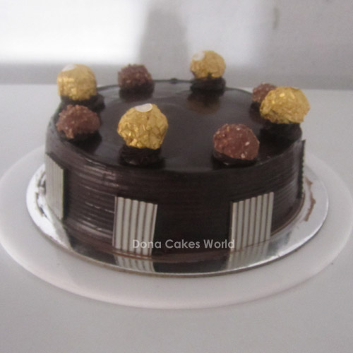Choco Delight with Ferrero Rocher