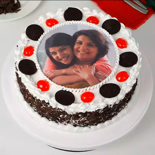 Black Forest Photo Cake Delivery Chennai, Order Cake