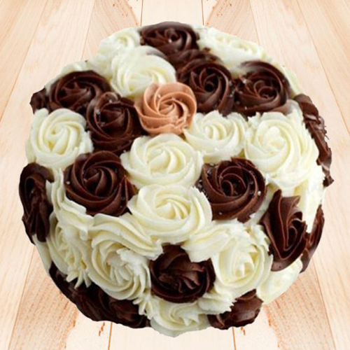 Choco Vanilla Cake Delivery Chennai Order Cake Online Chennai Cake Home Delivery Send Cake As Gift By Dona Cakes World Online Shopping India