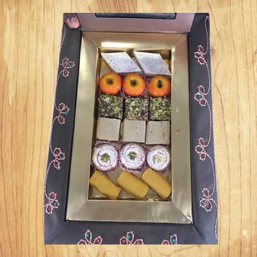 Dry Fruit Assorted Sweets Gift Box