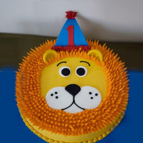 Lion Face Cake Delivery Chennai Order Cake Online Chennai